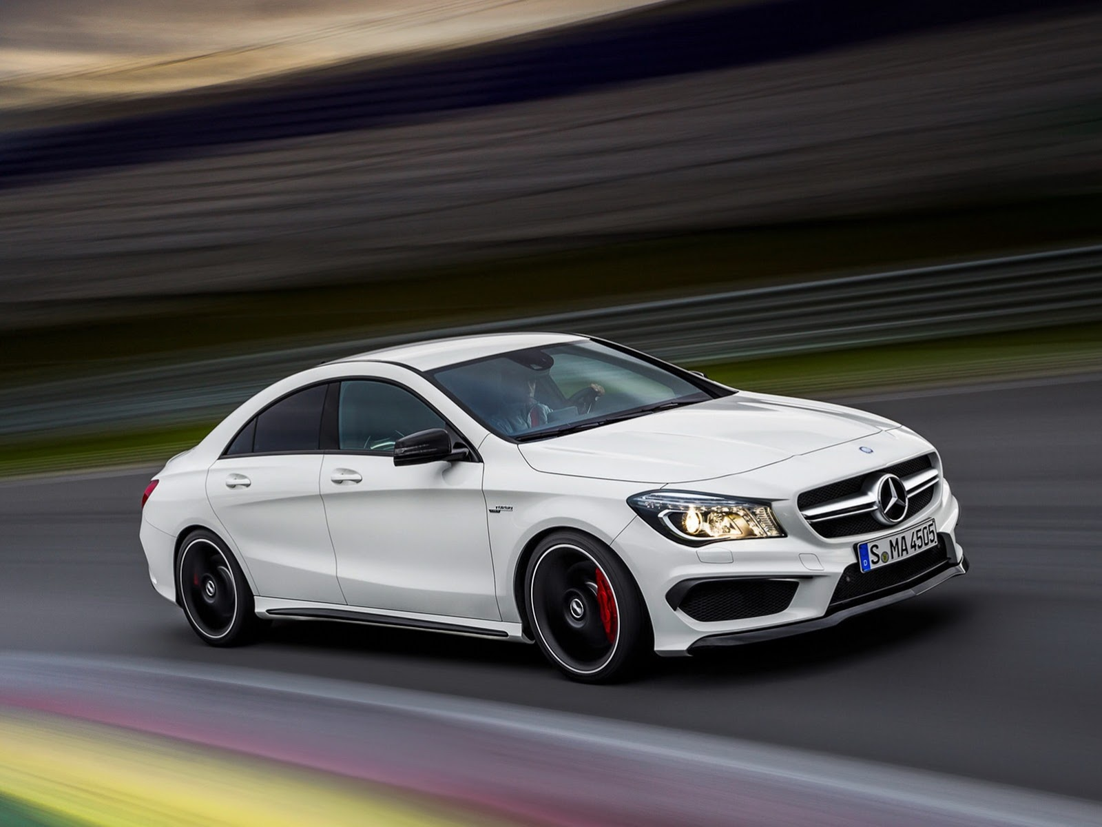 mercedes cla pictures #7