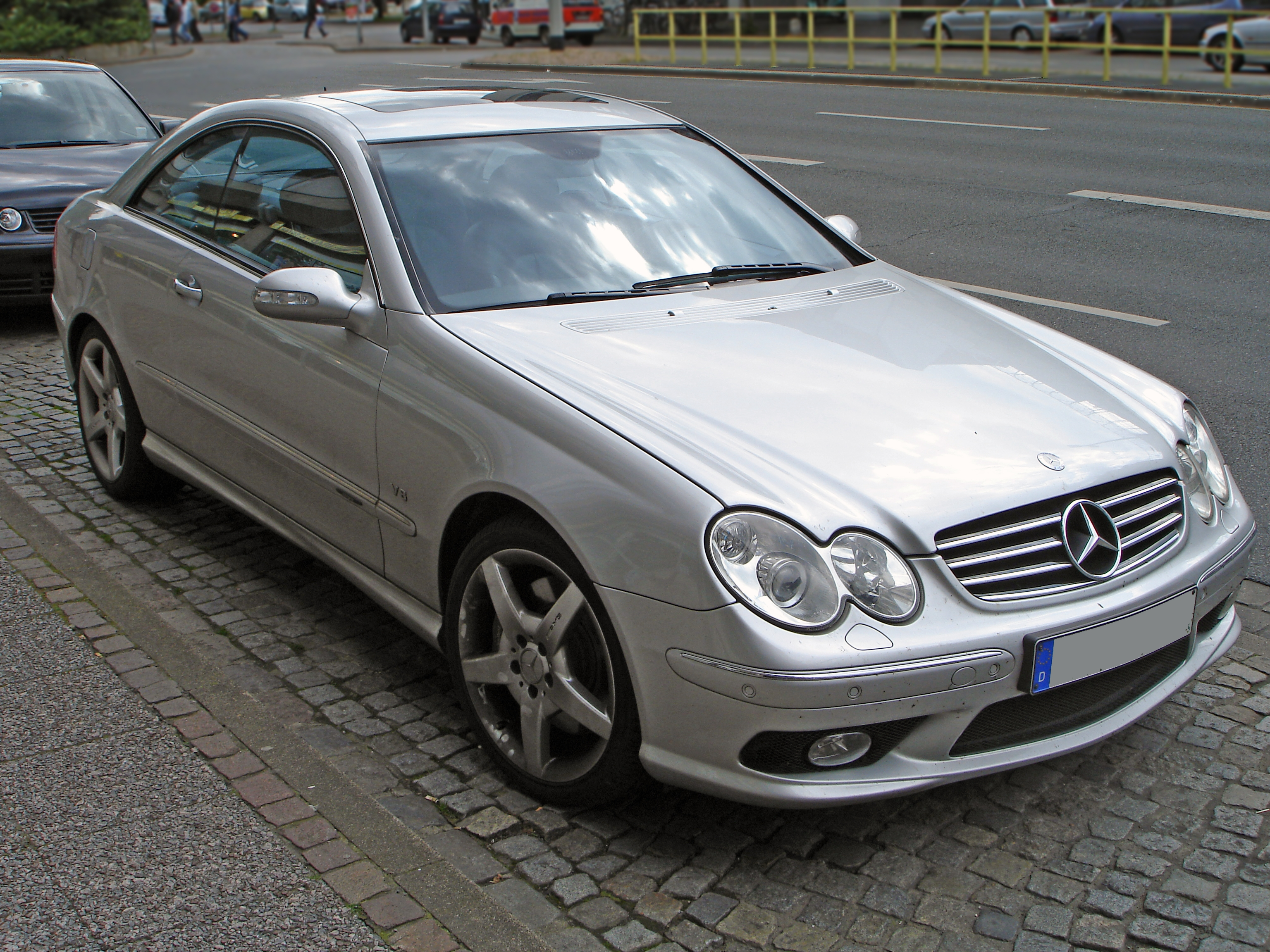 mercedes clk pictures #1