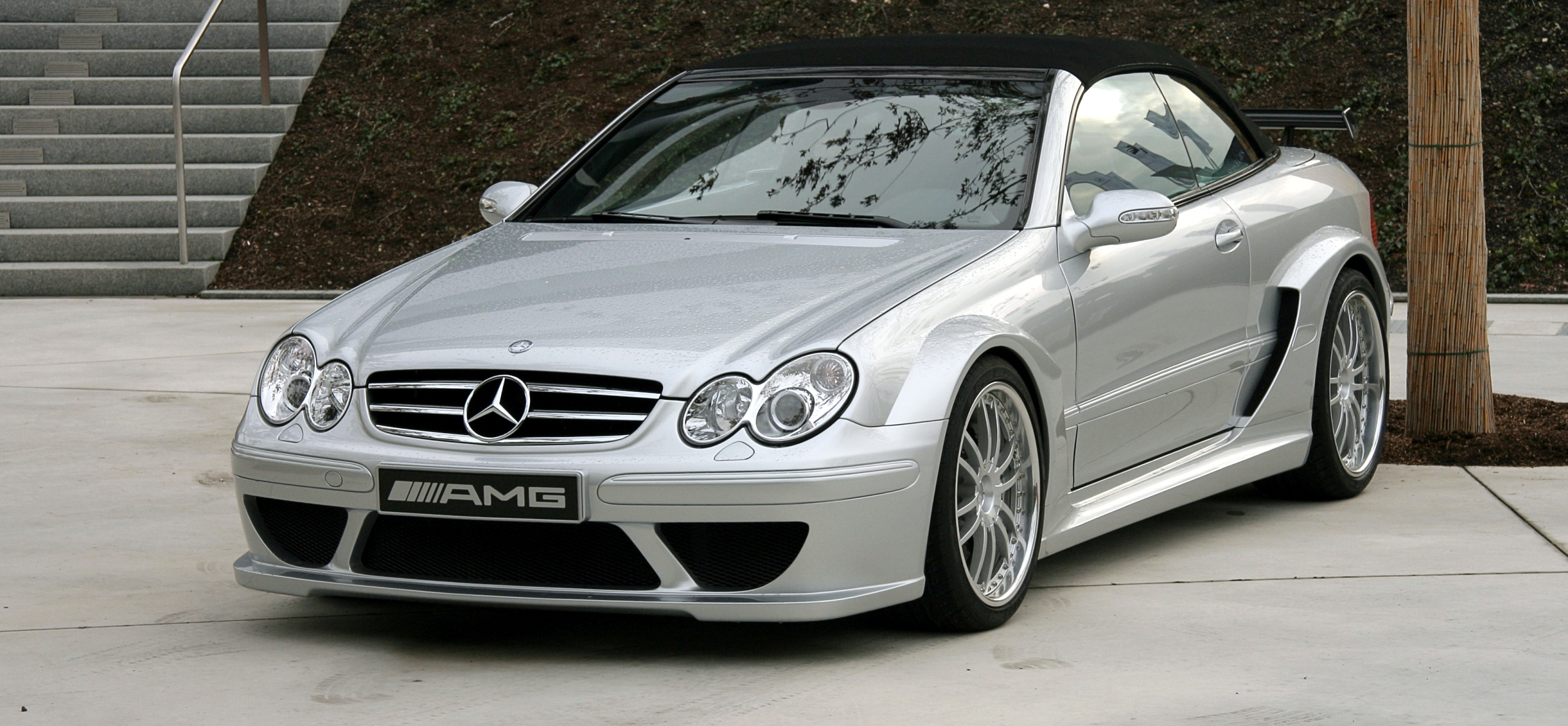 mercedes clk wallpaper #7