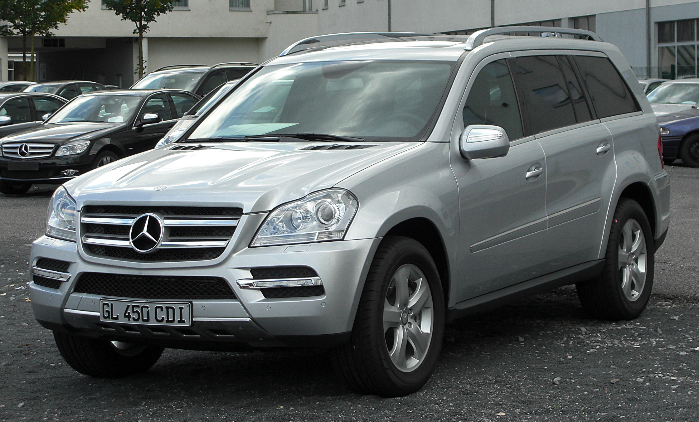 mercedes gl seriess