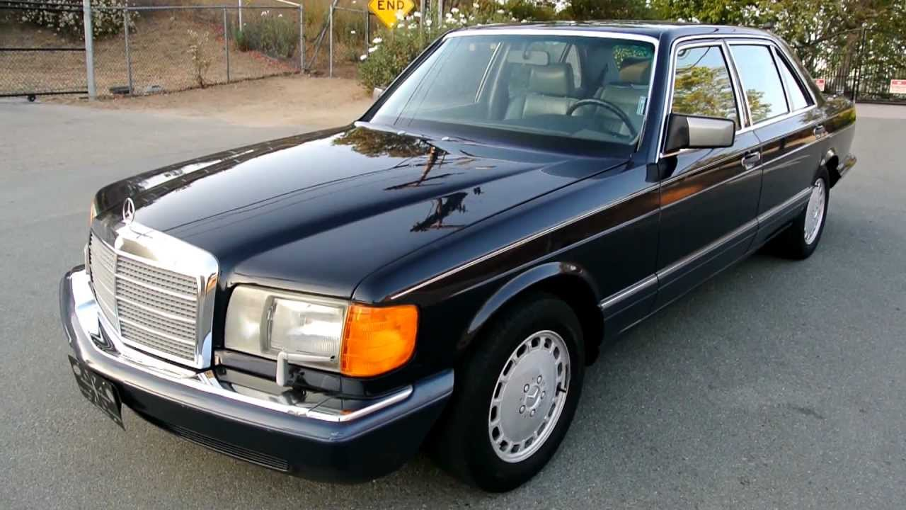1990 mercedes s klasse w126 pictures information and for Mercedes benz 1990