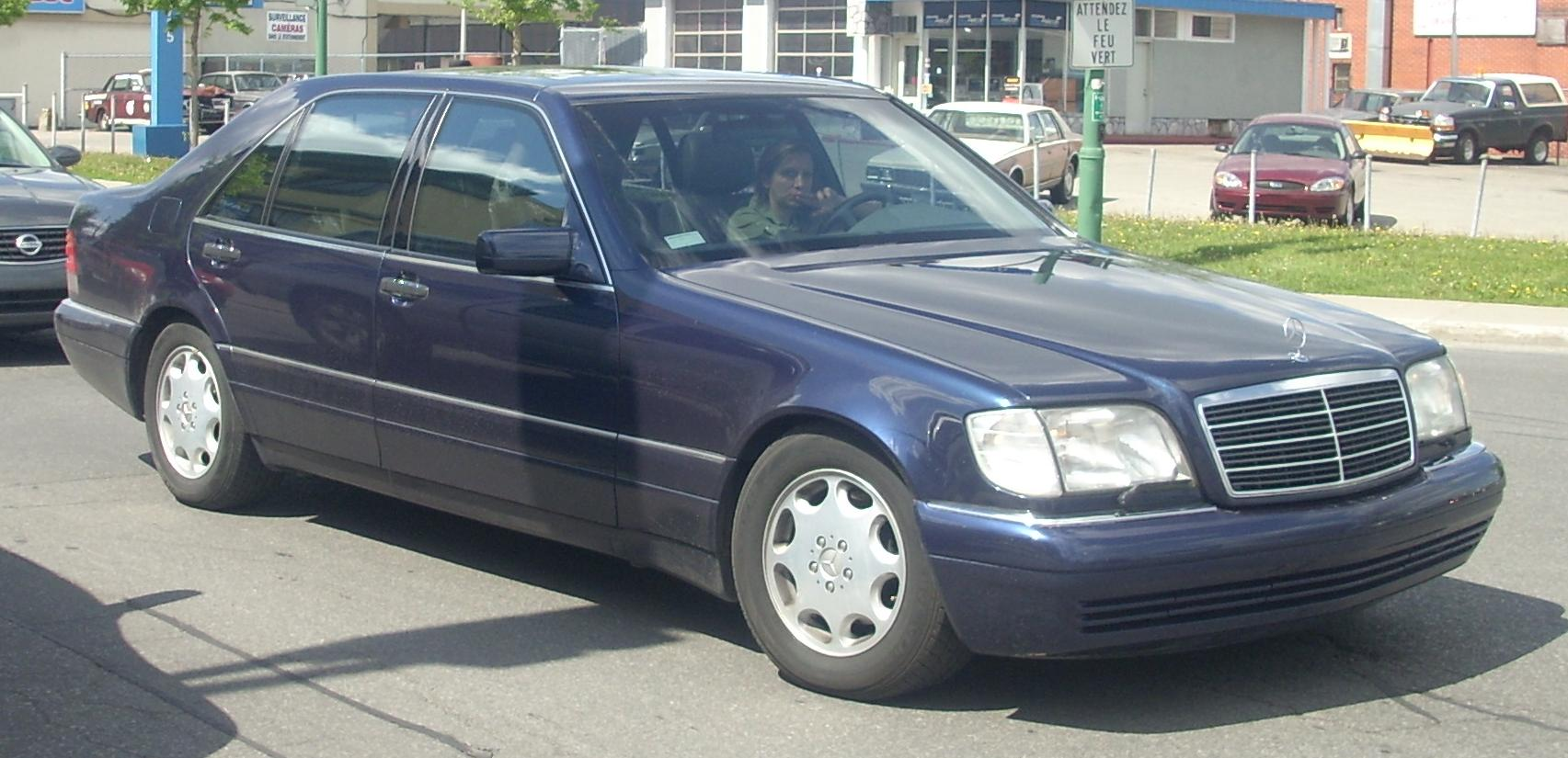 1994 Mercedes S-klasse (w140) – pictures, information and