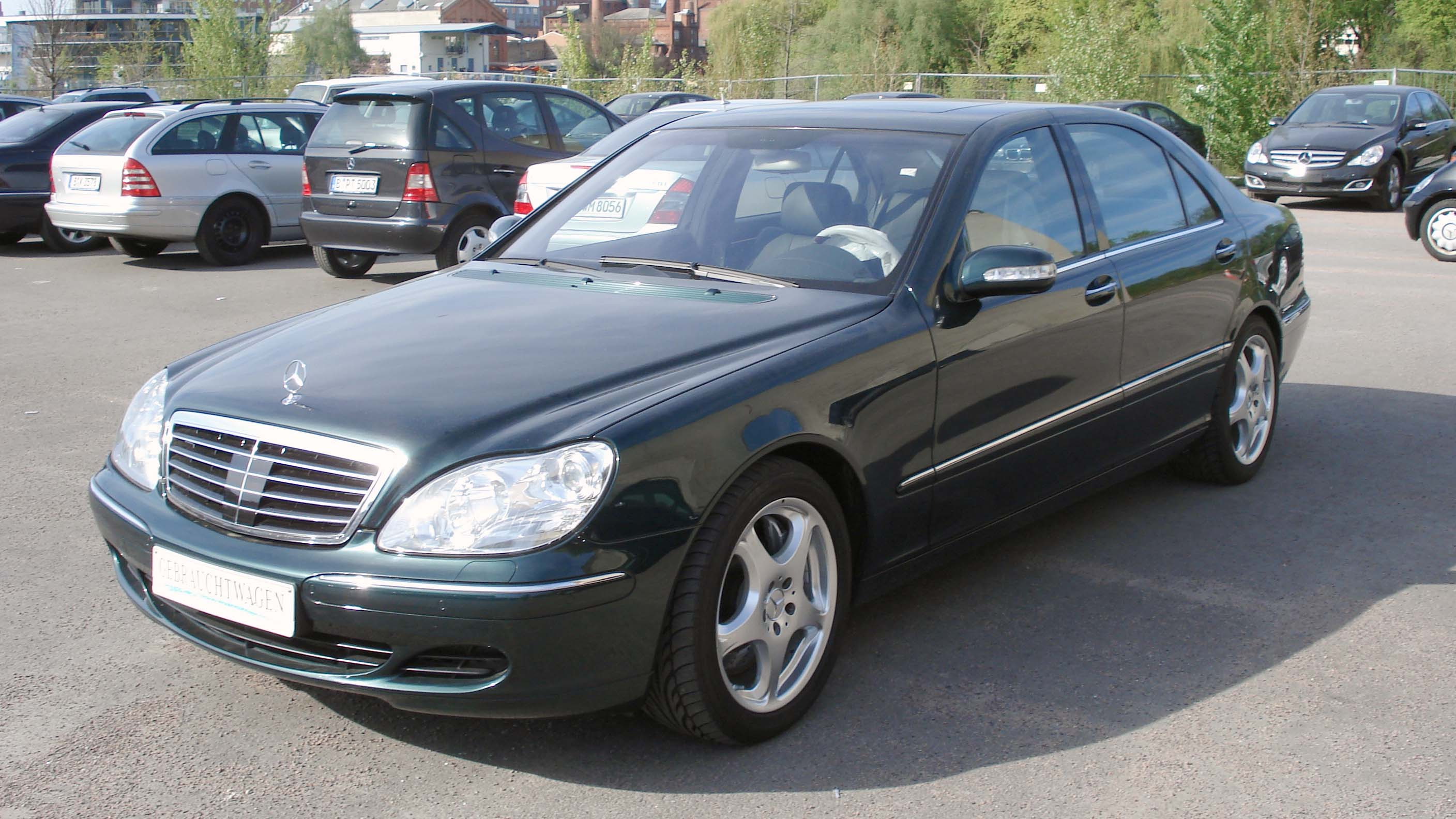 2001 Mercedes S Klasse W220 Pictures Information And