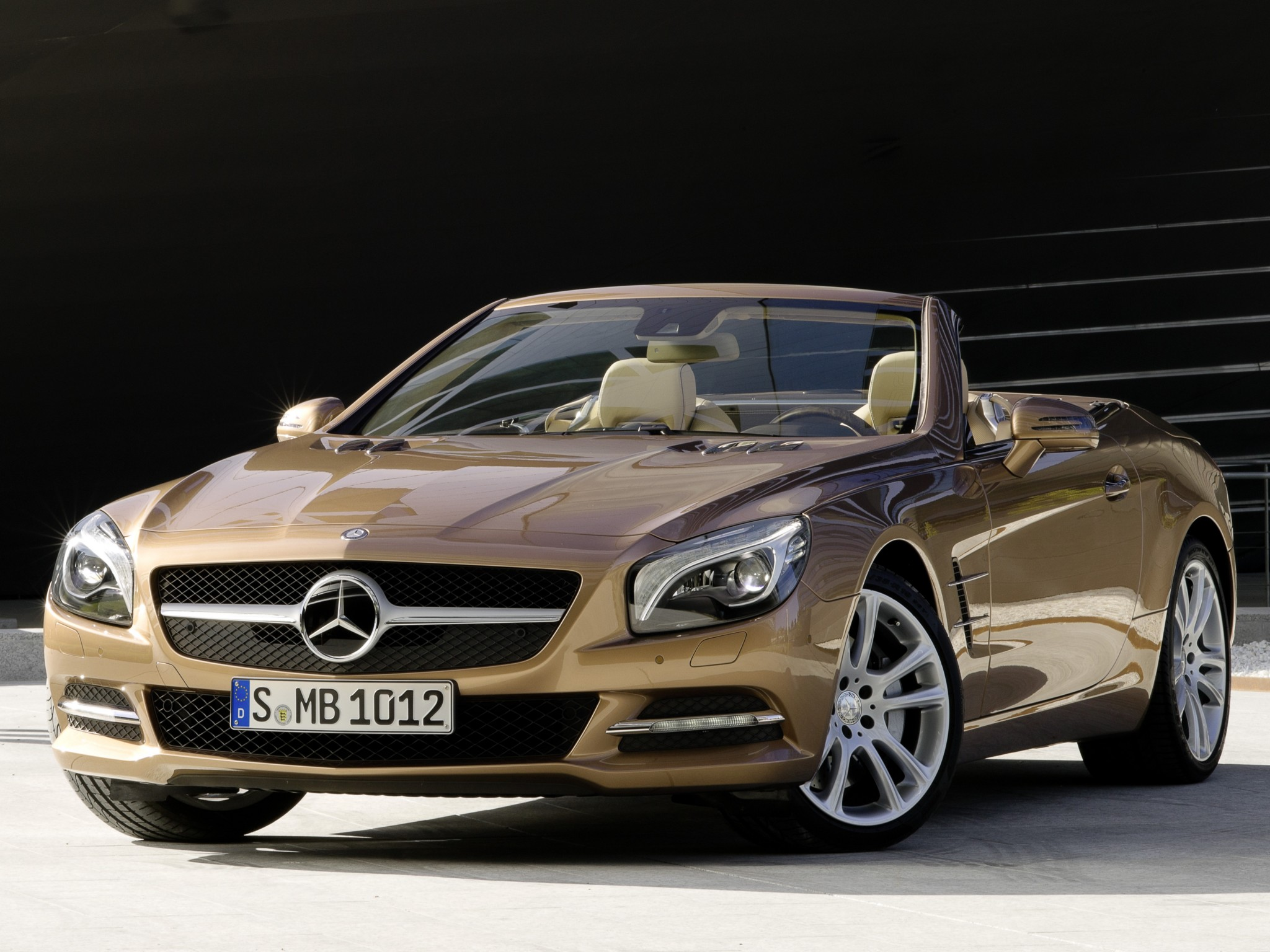 mercedes sl pictures #5