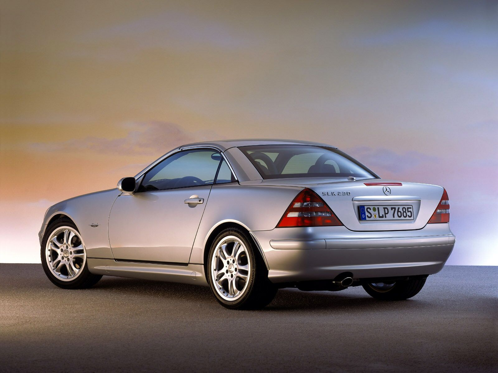 mercedes slk seriess #10