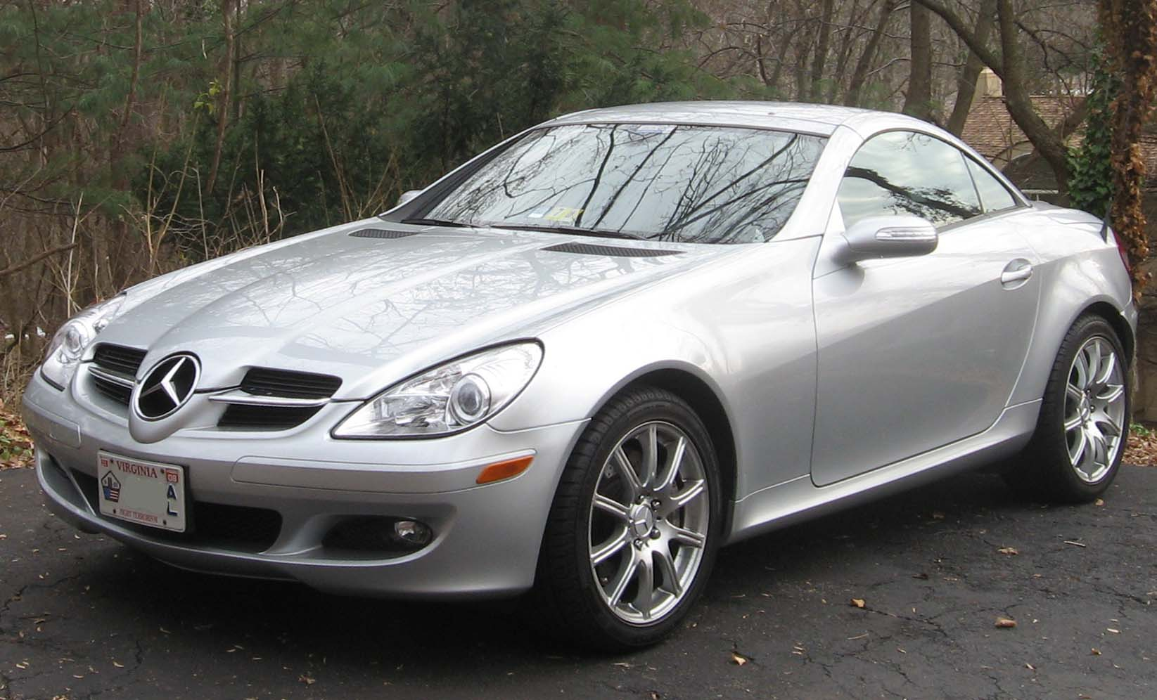 mercedes slk wallpaper #12