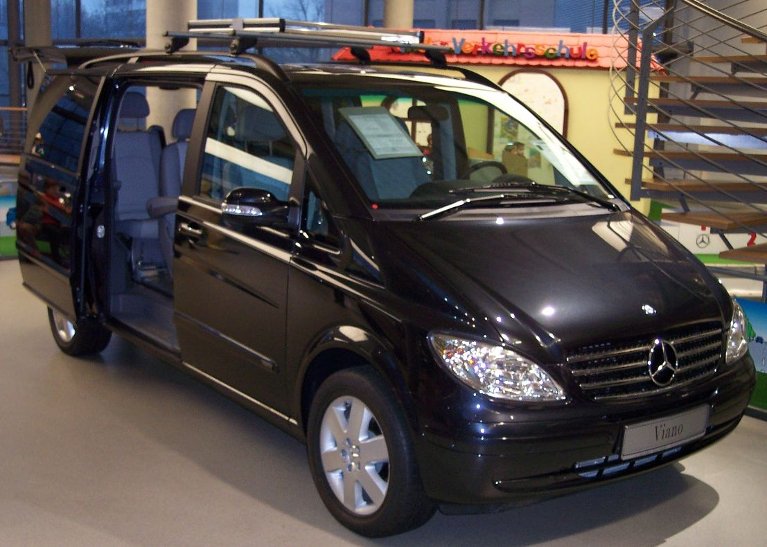 mercedes viano pictures #4