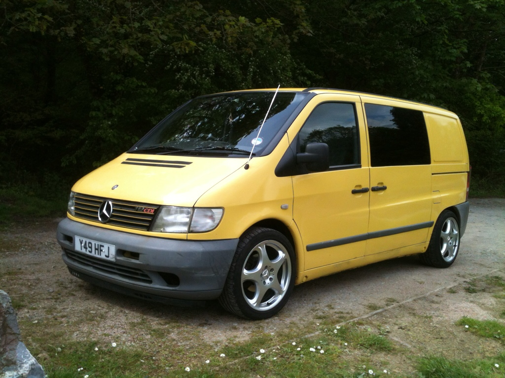 2001 Mercedes Vito i - pictures, information and specs ...