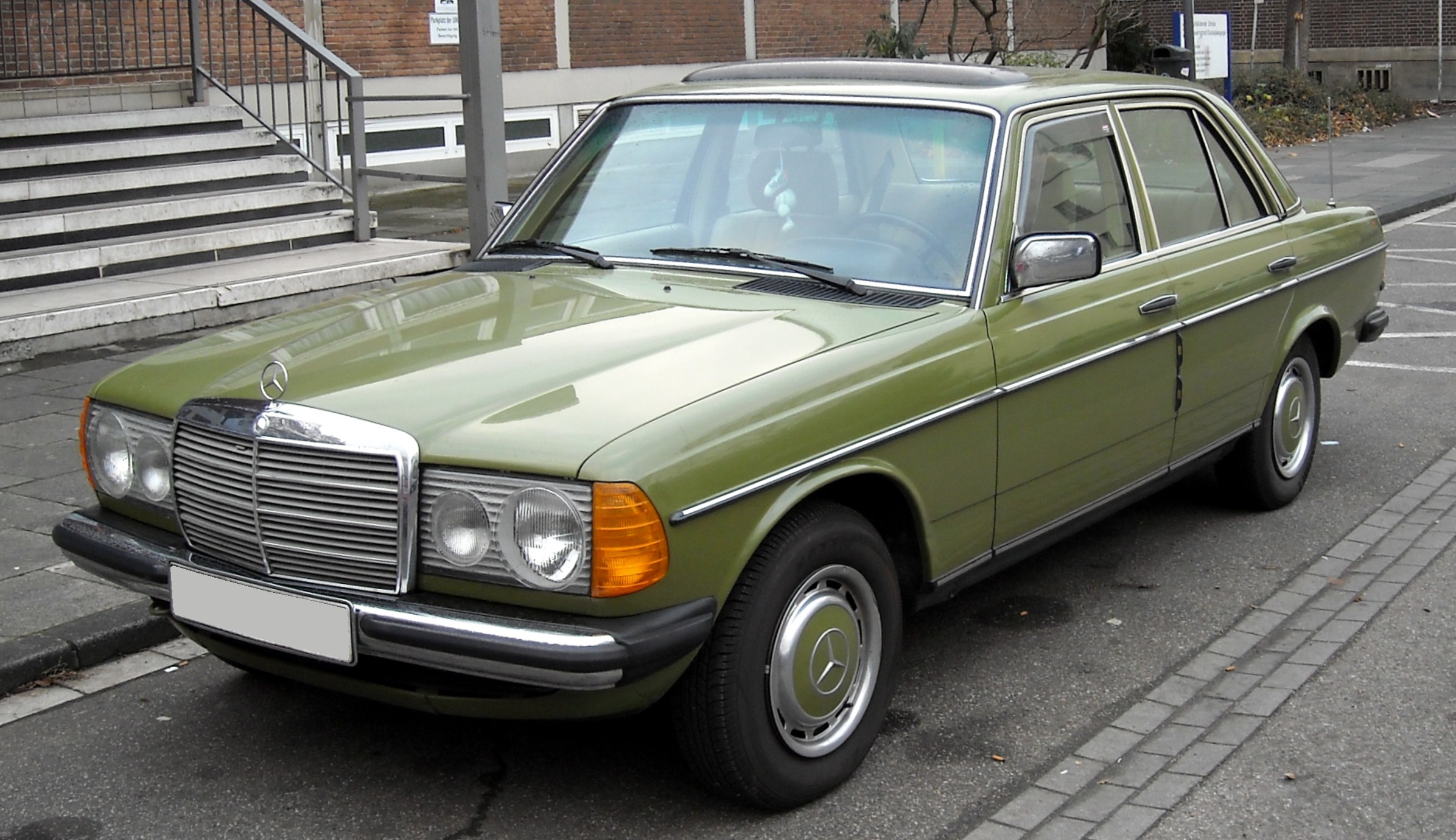 mercedes w123 images #4