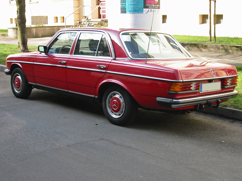 mercedes w123 pictures #7