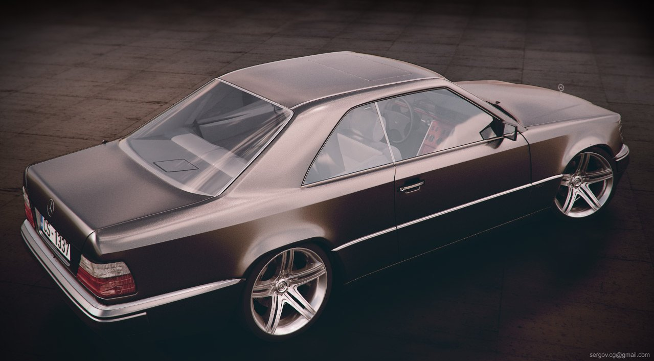 1990 mercedes w124 coupe pictures information and specs. Black Bedroom Furniture Sets. Home Design Ideas