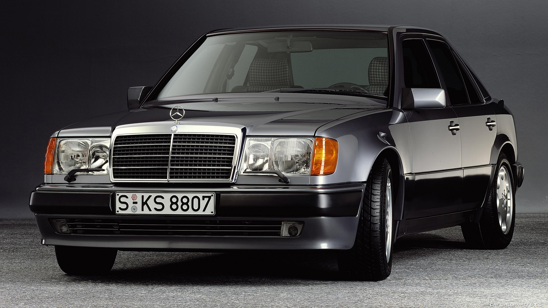 mercedes w124 coupe 1991