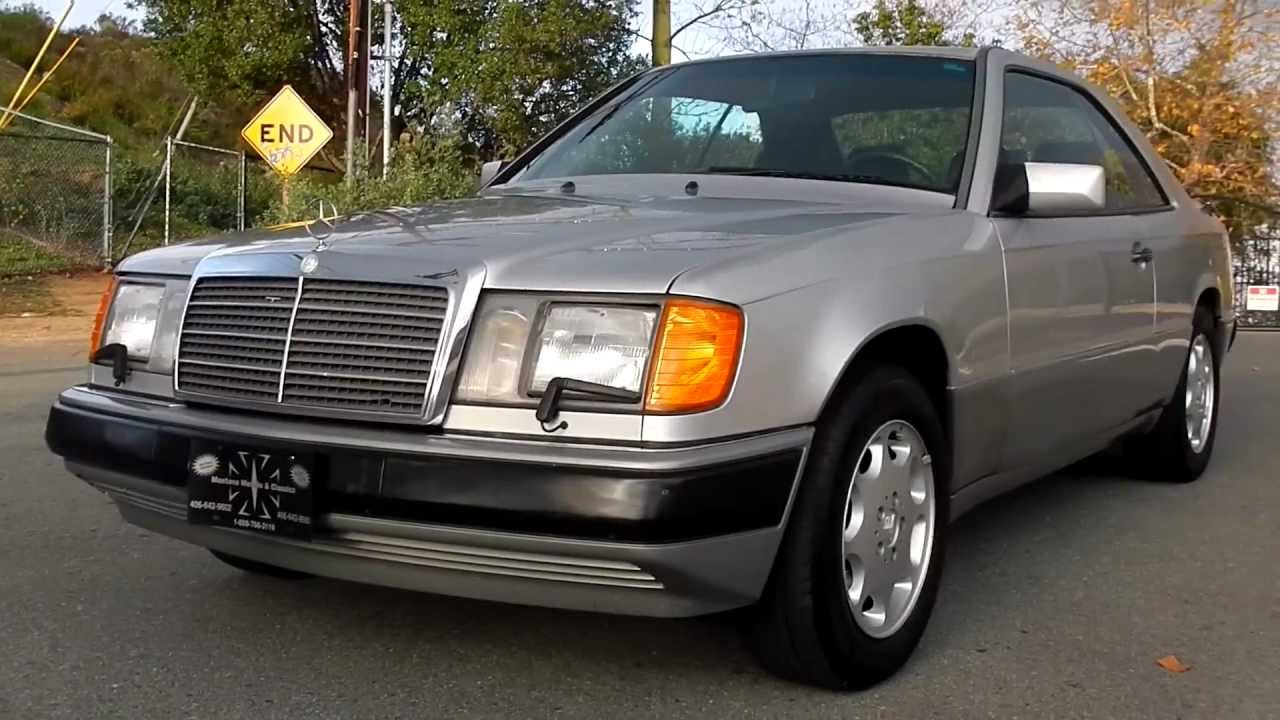 mercedes w124 coupe 1991 models