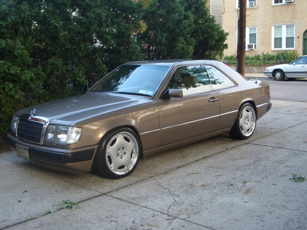 mercedes w124 coupe 1991 pictures