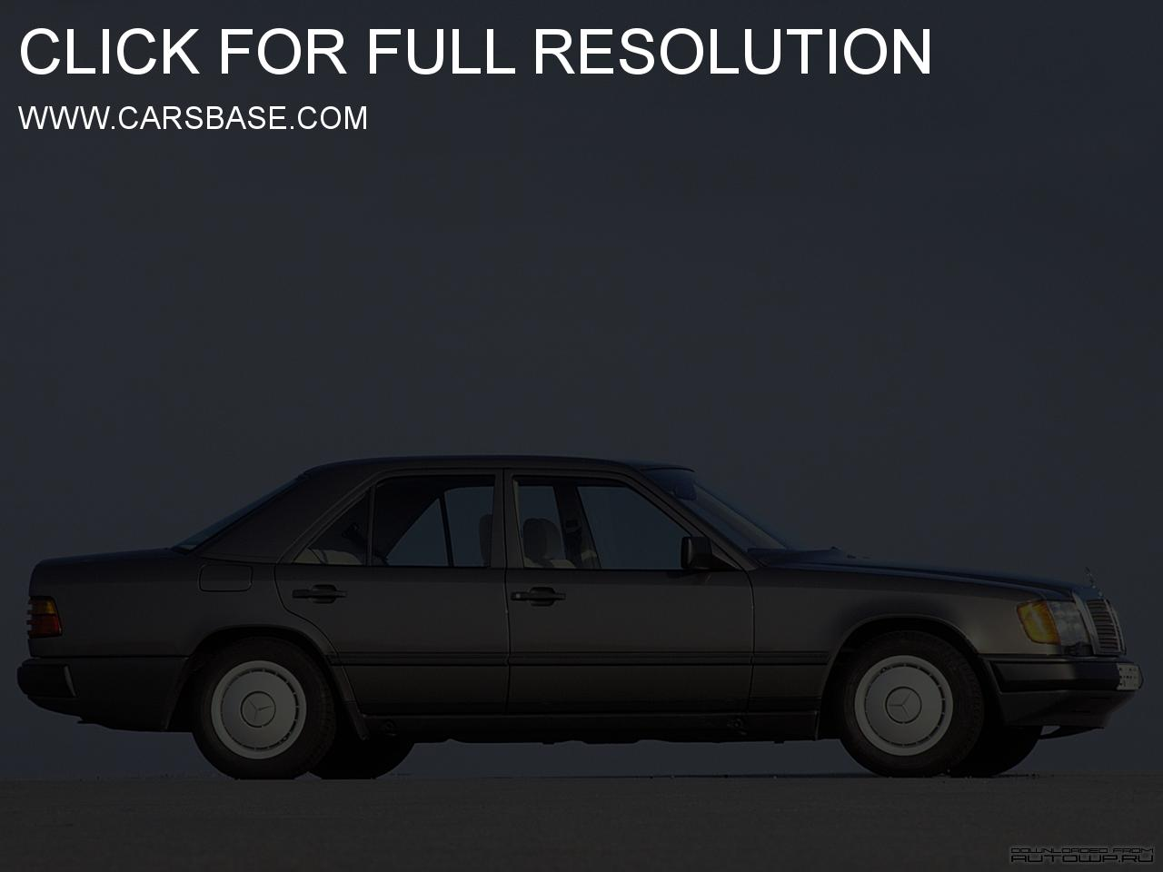 mercedes w124 images