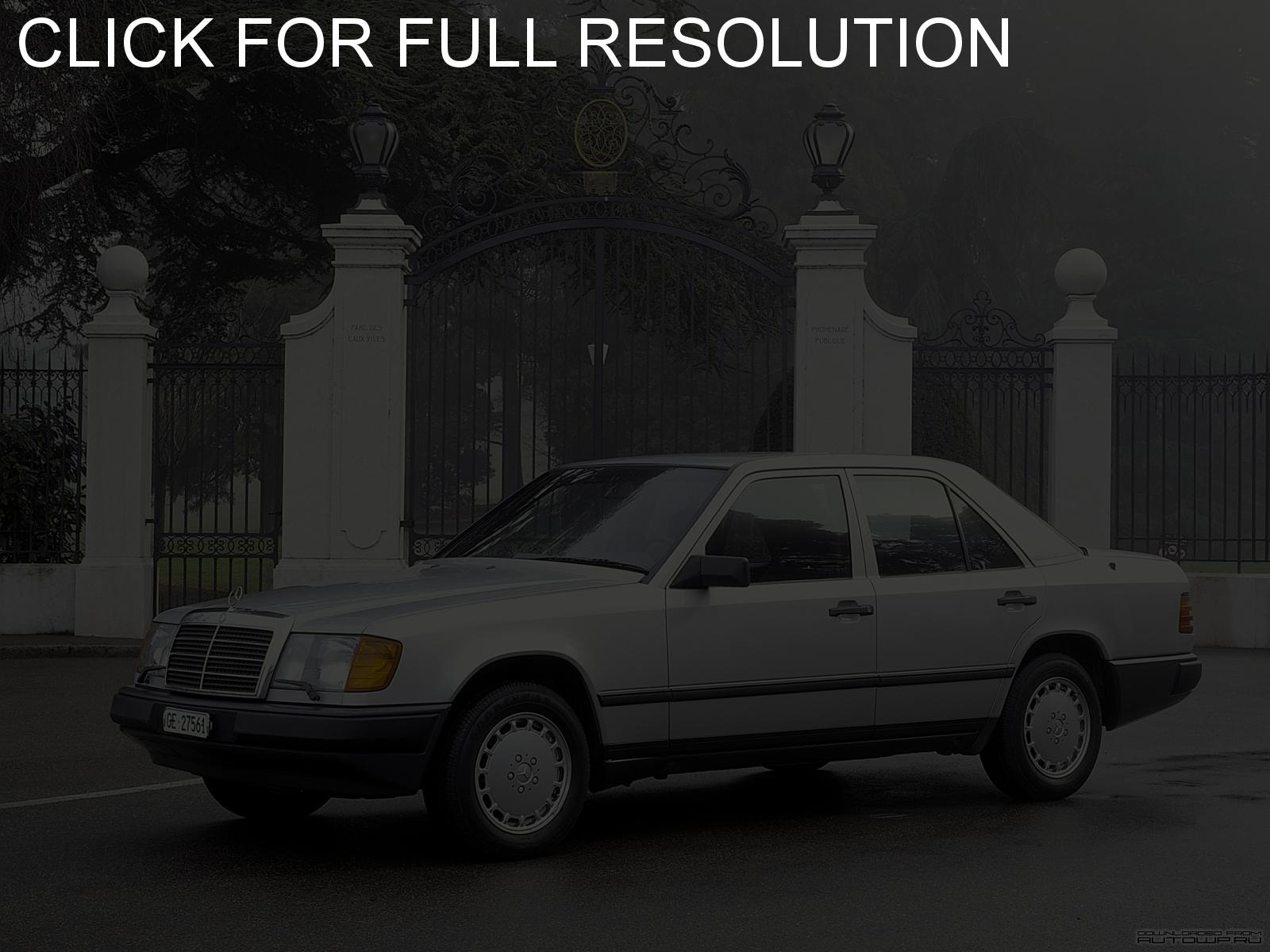 mercedes w124 pictures #8
