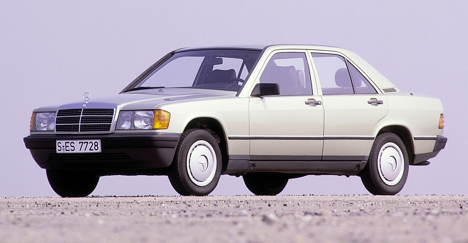 mercedes w201 (190) images #14