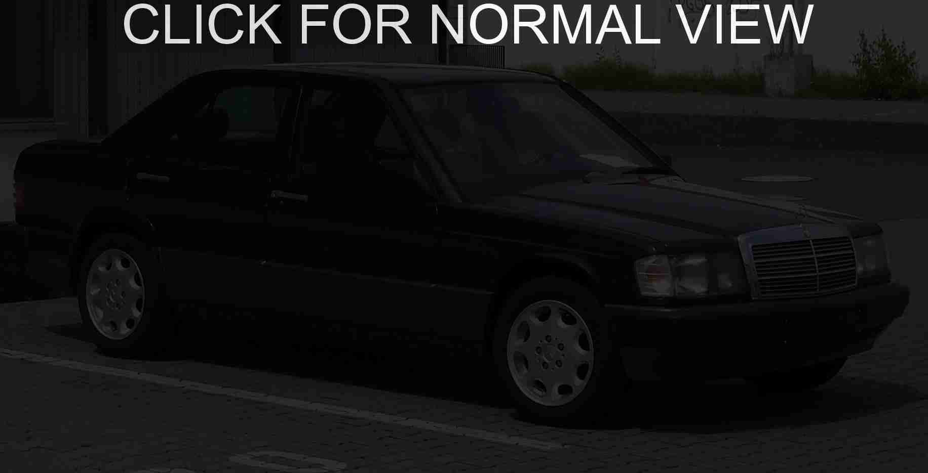 mercedes w201 (190) pictures #9