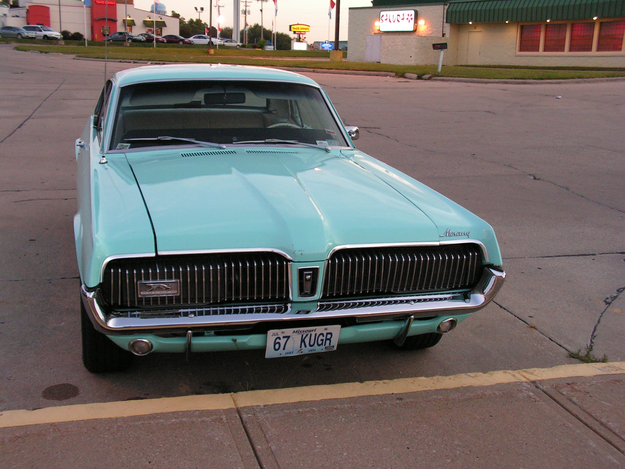 mercury cougar pictures