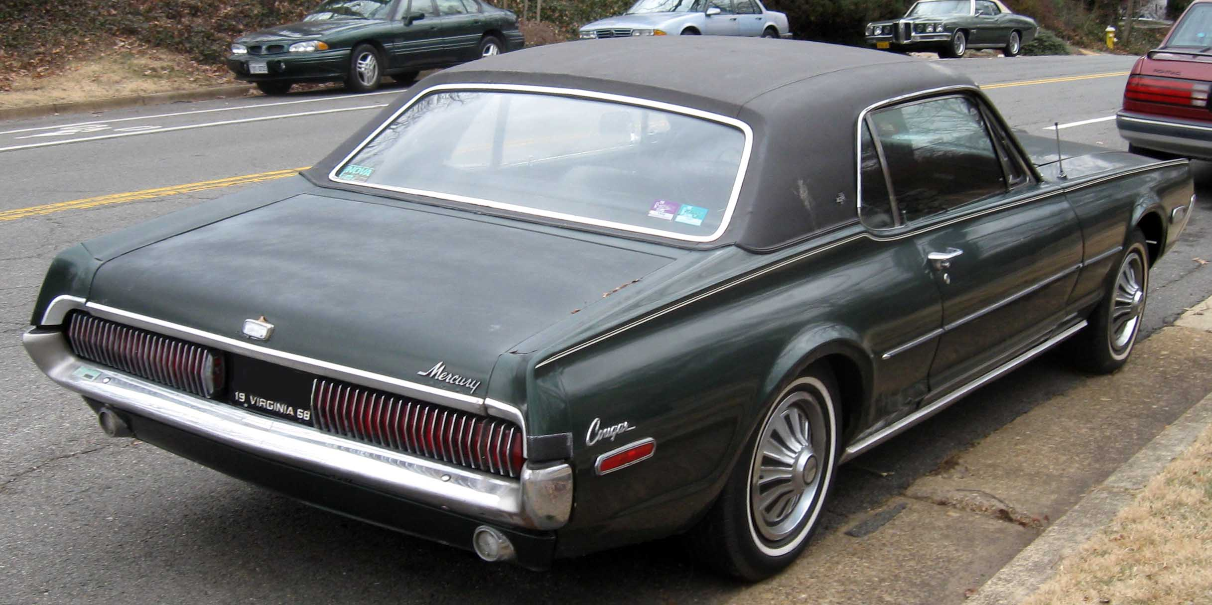 mercury cougar seriess