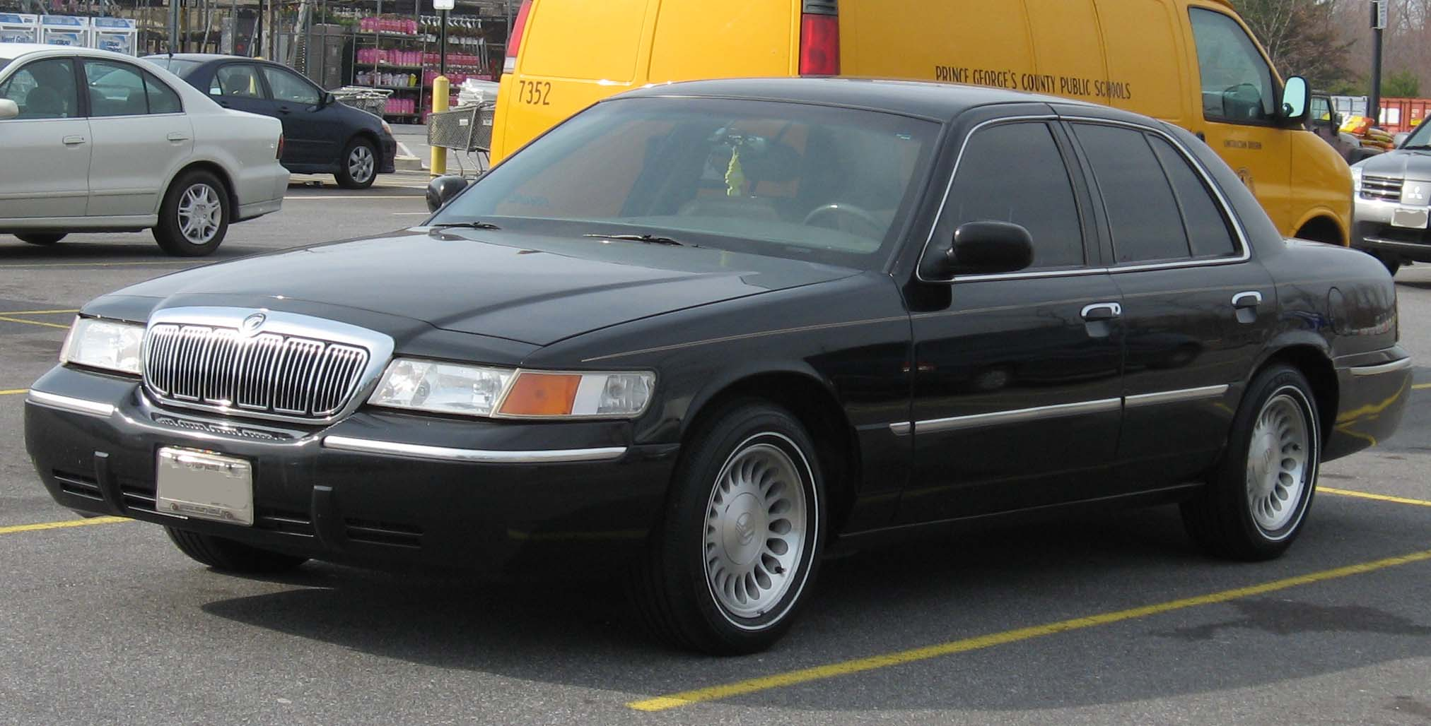 mercury grand marquis images #4