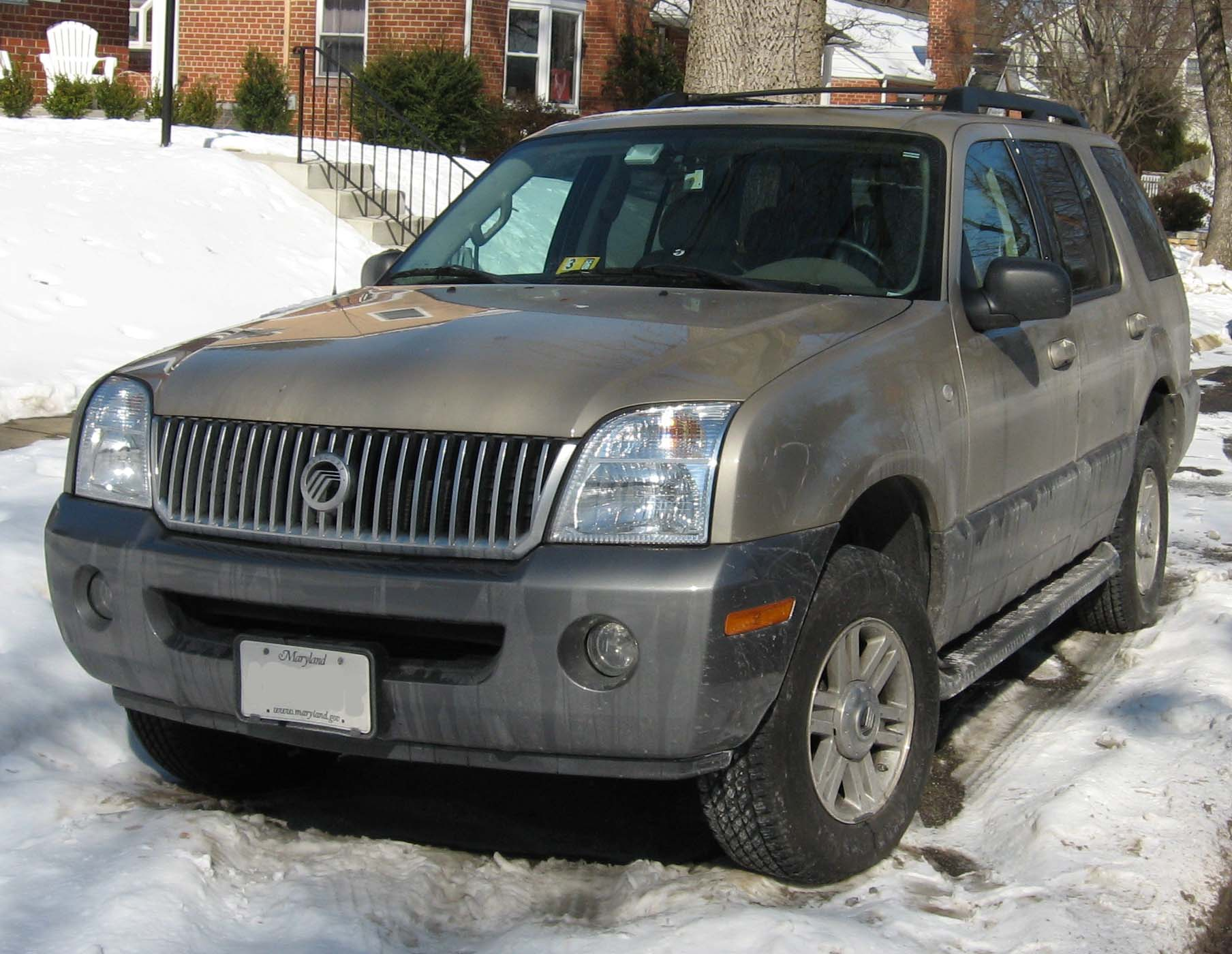 2002 Mercury Mountaineer   pictures, information and specs - Auto