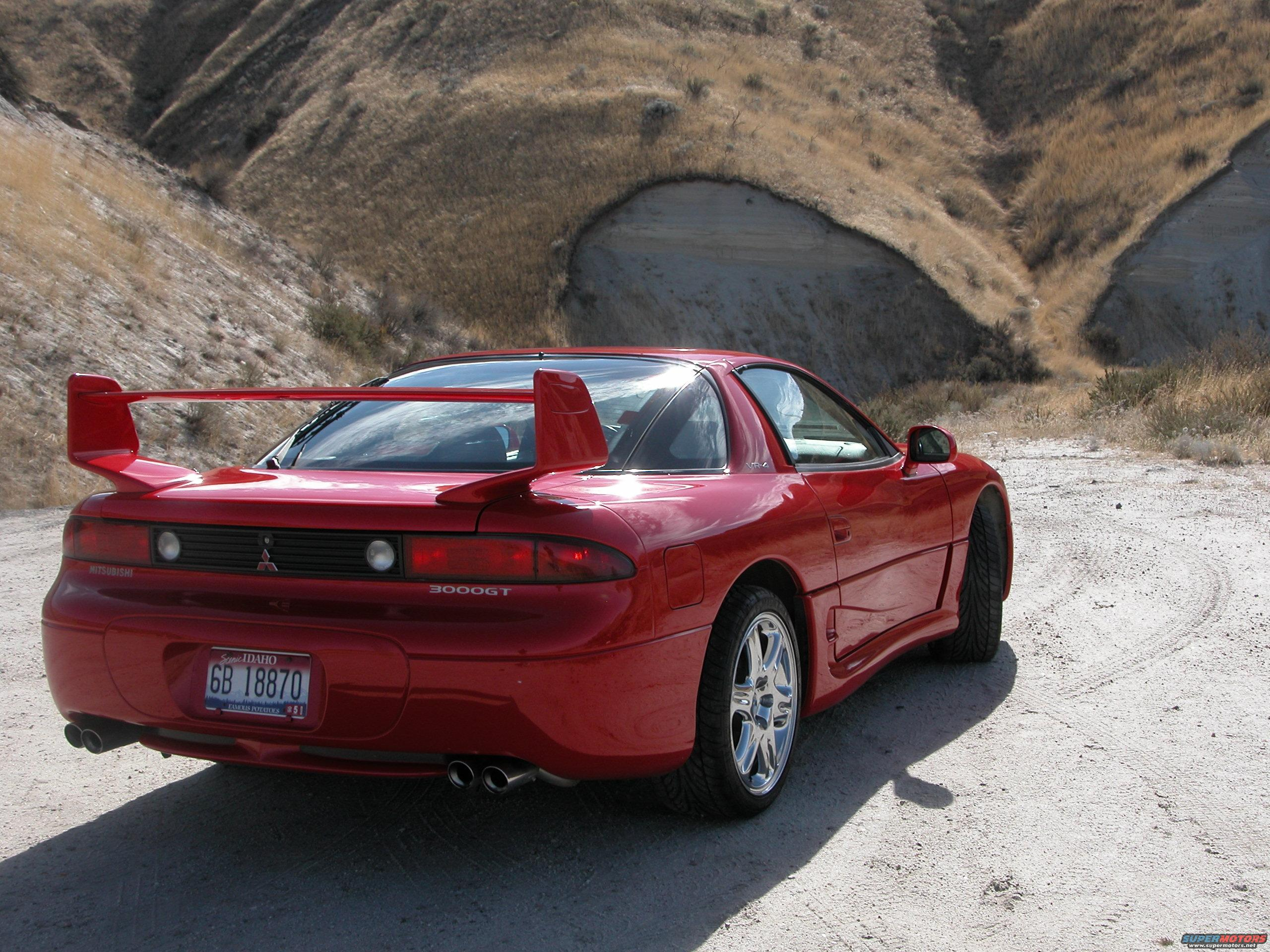 1999 Mitsubishi 3000 gt spyder – pictures information and