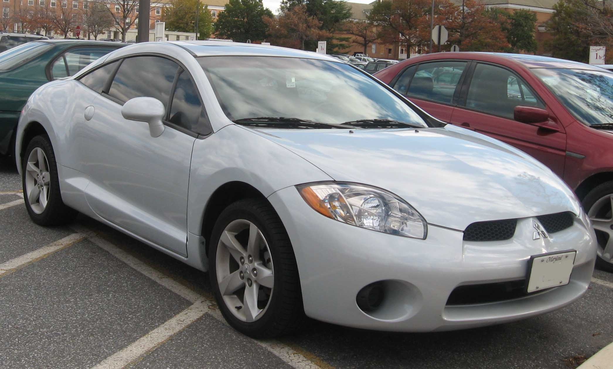 mitsubishi eclipse iv 2007 pictures #2