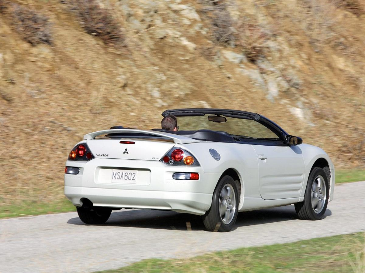 mitsubishi eclipse spyder iii (d30) 2000 images #1