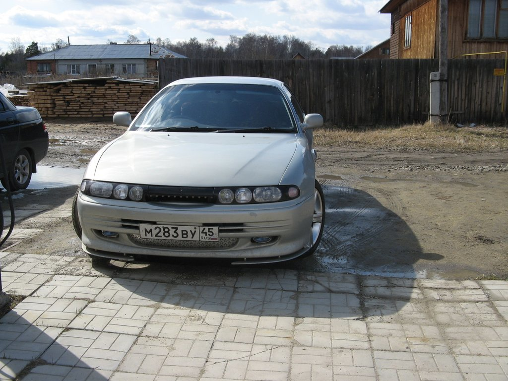 1993 Mitsubishi Emeraude (e54a)   pictures, information and specs