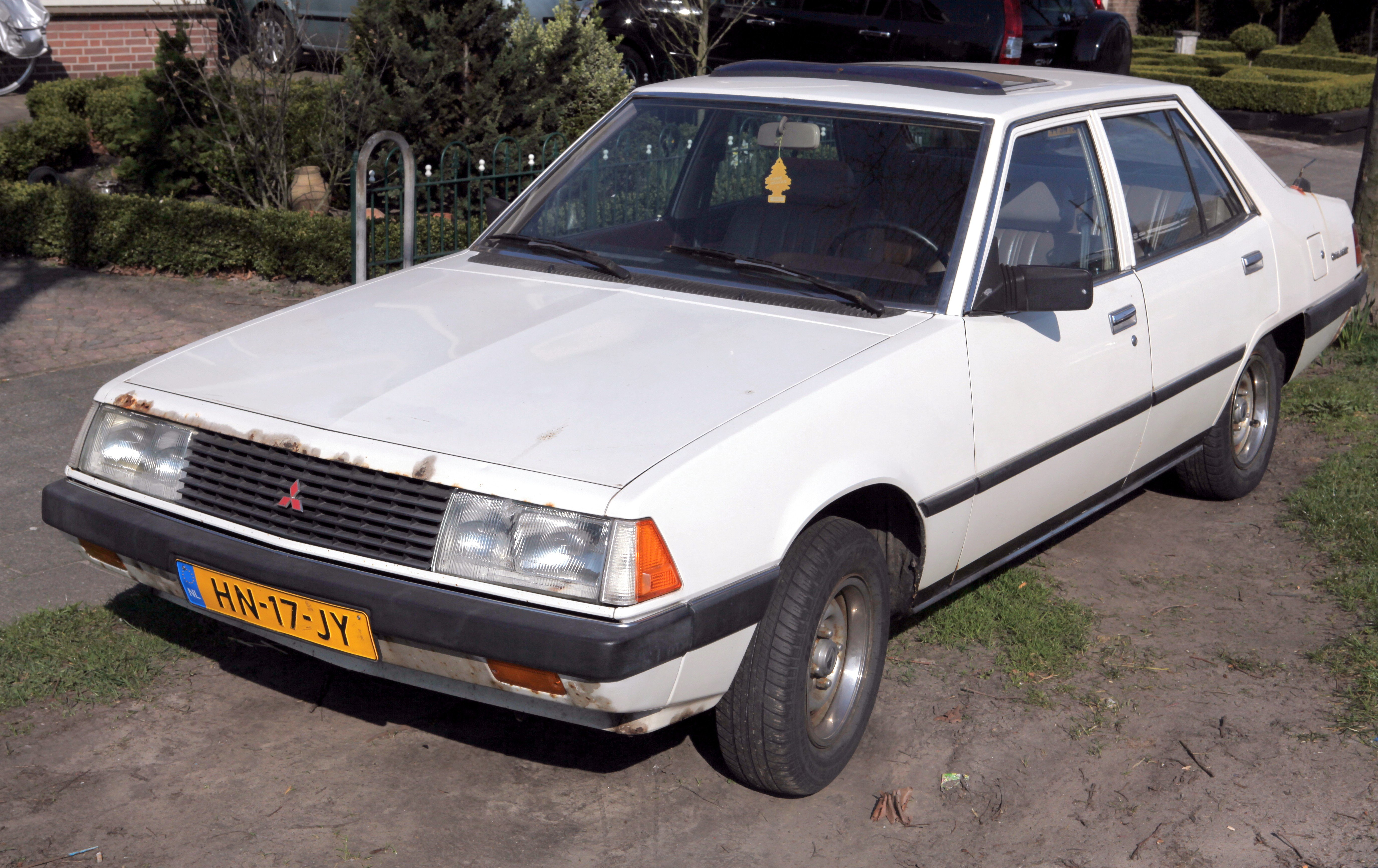 mitsubishi galant vi sedan 1991 images