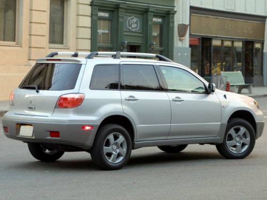 2005 Mitsubishi Outlander ii – pictures, information and specs ...