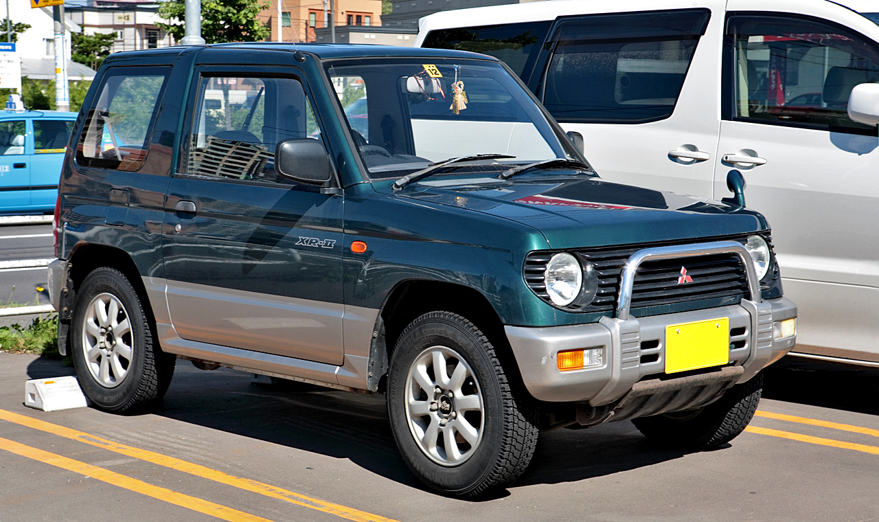 mitsubishi pajero mini 2008 wallpaper
