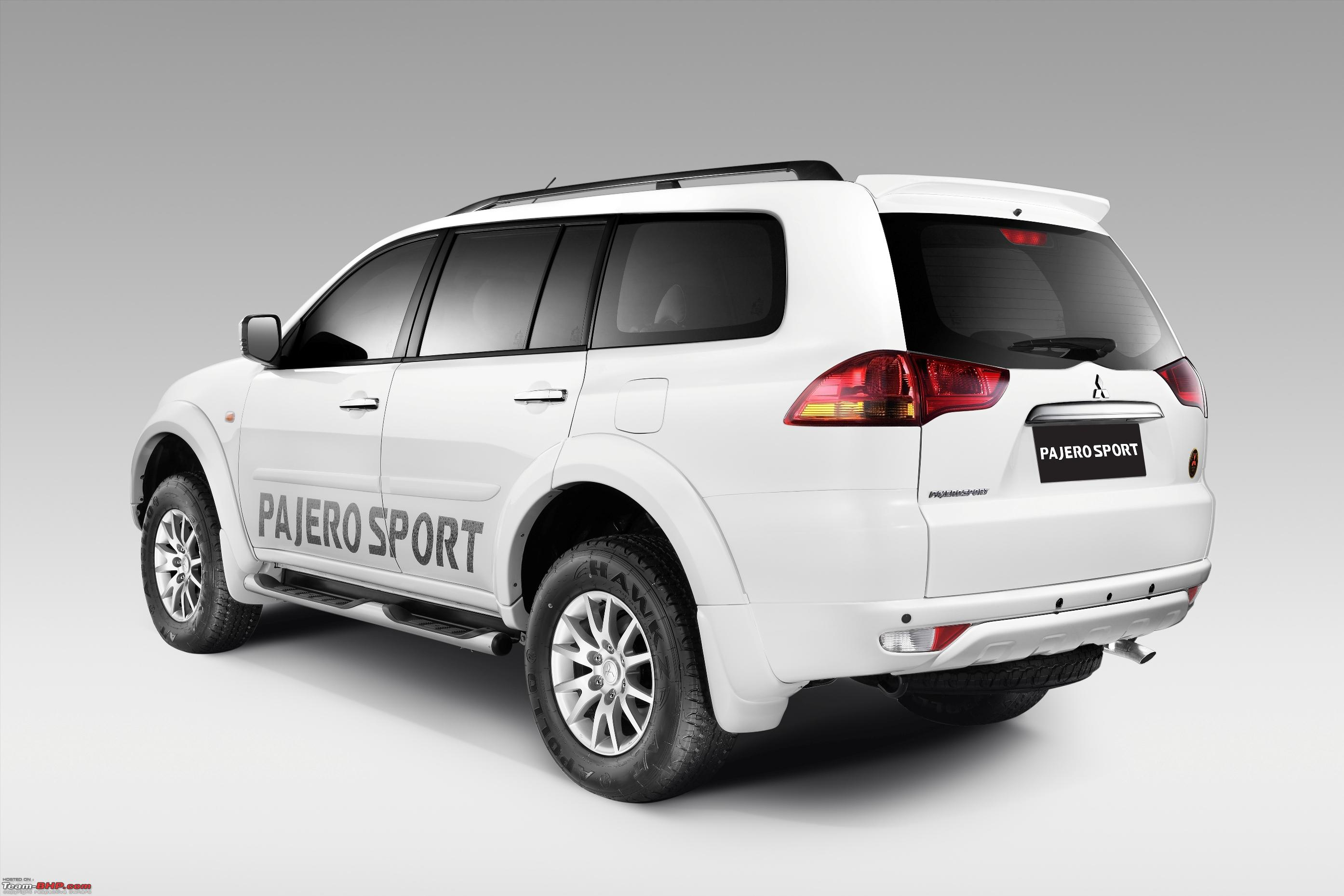 2015 mitsubishi pajero sport � pictures information and