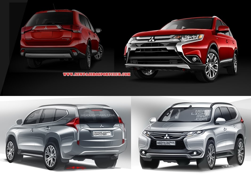 2016 Mitsubishi Pajero sport   pictures, information and specs