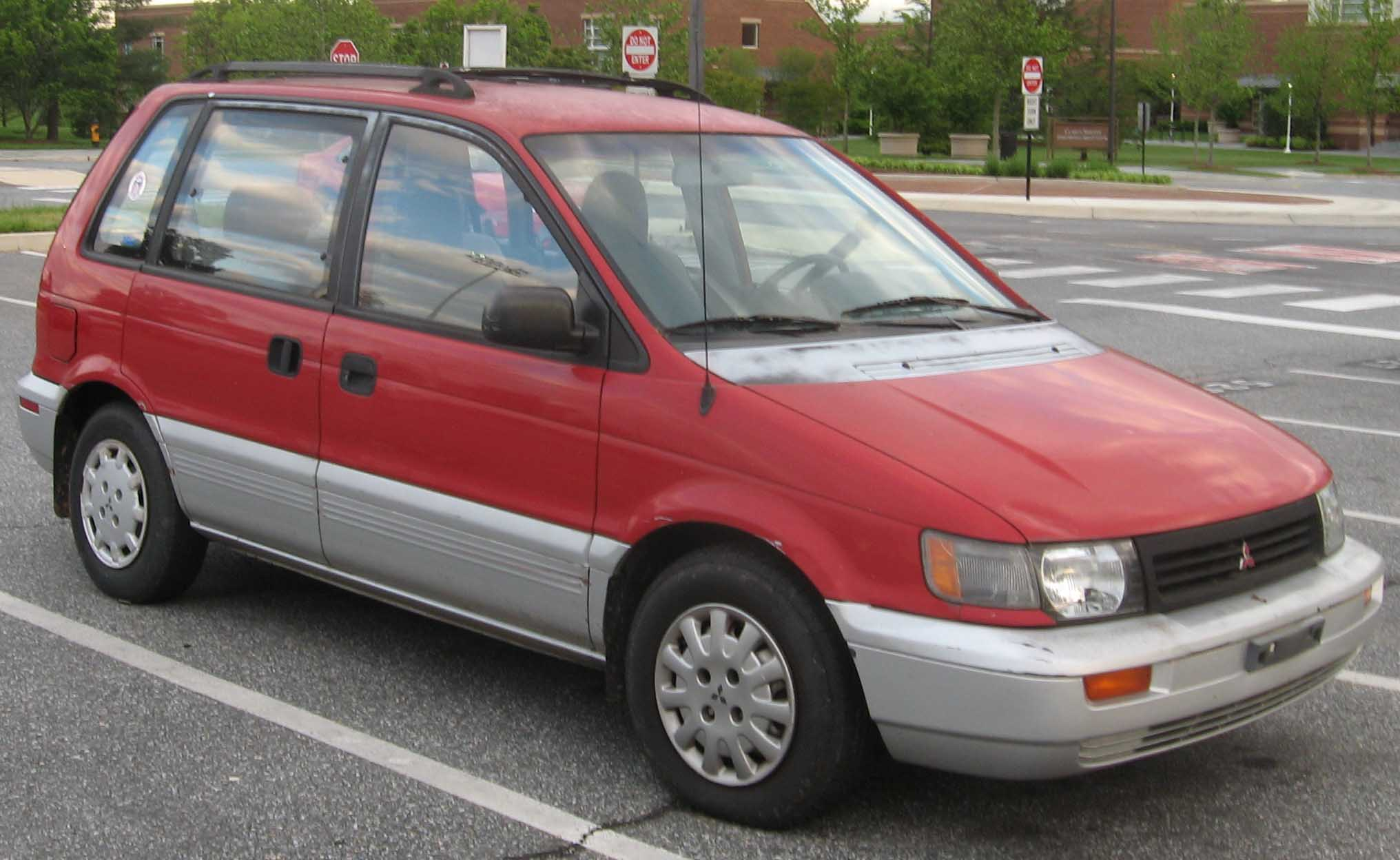 mitsubishi space wagon (d0_w) 1990 models