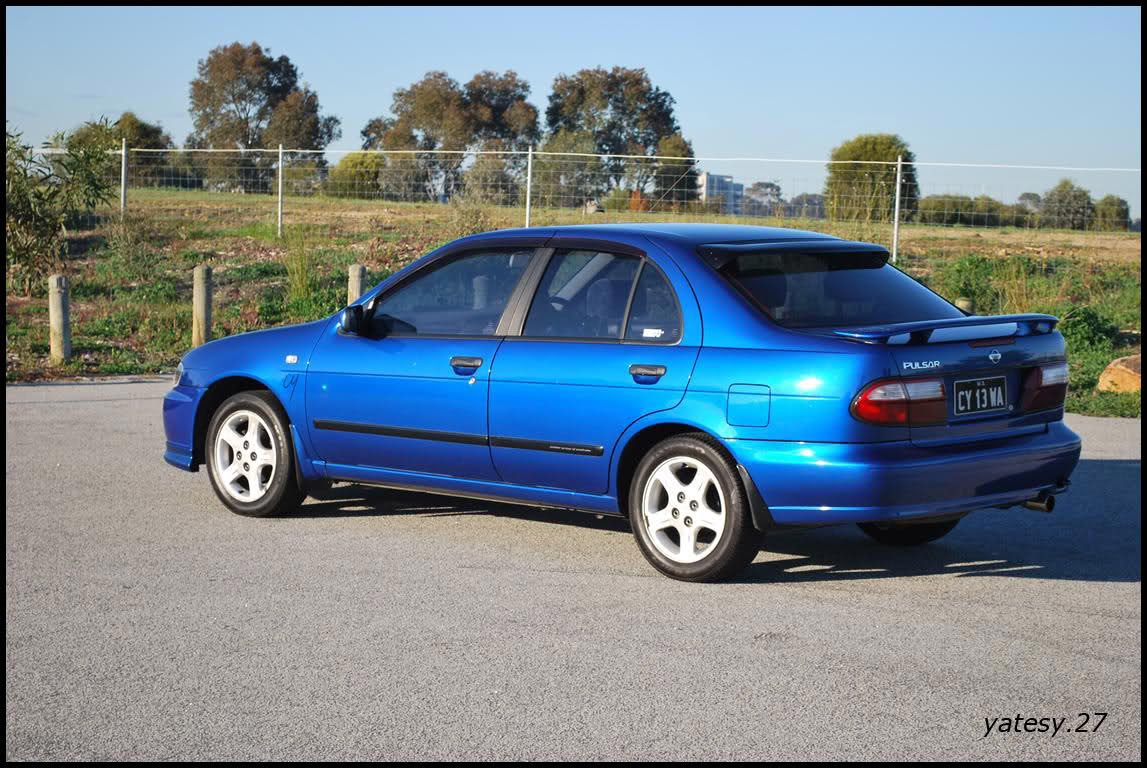 1999 Nissan Almera I N15 Pictures Information And