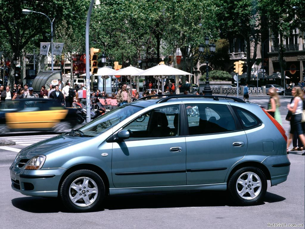 2005 nissan almera tino pictures information and specs. Black Bedroom Furniture Sets. Home Design Ideas
