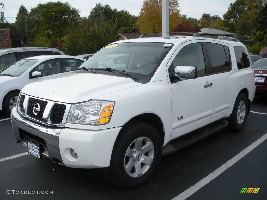 2006 Nissan Armada Pictures Information And Specs