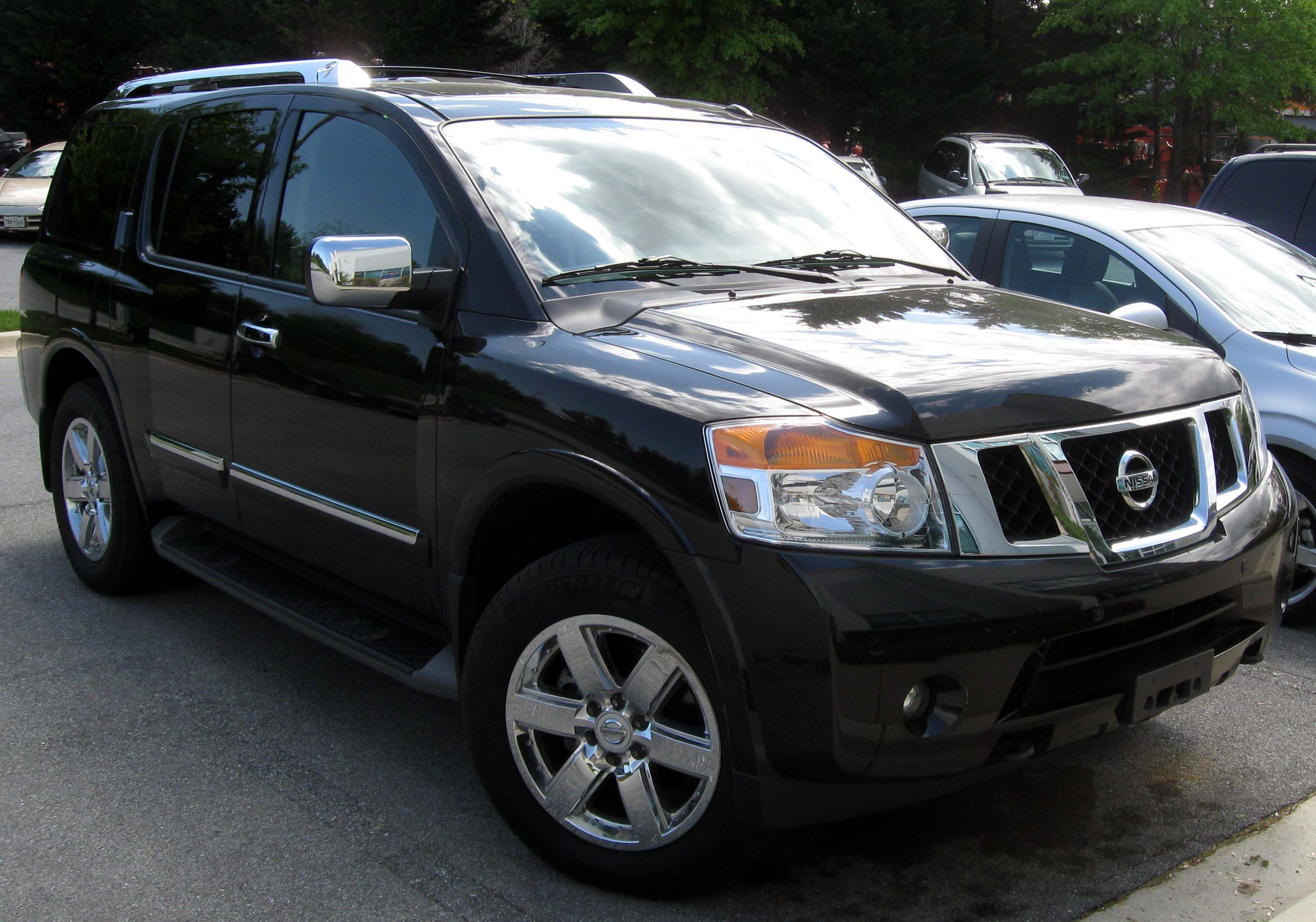 nissan armada pictures #5