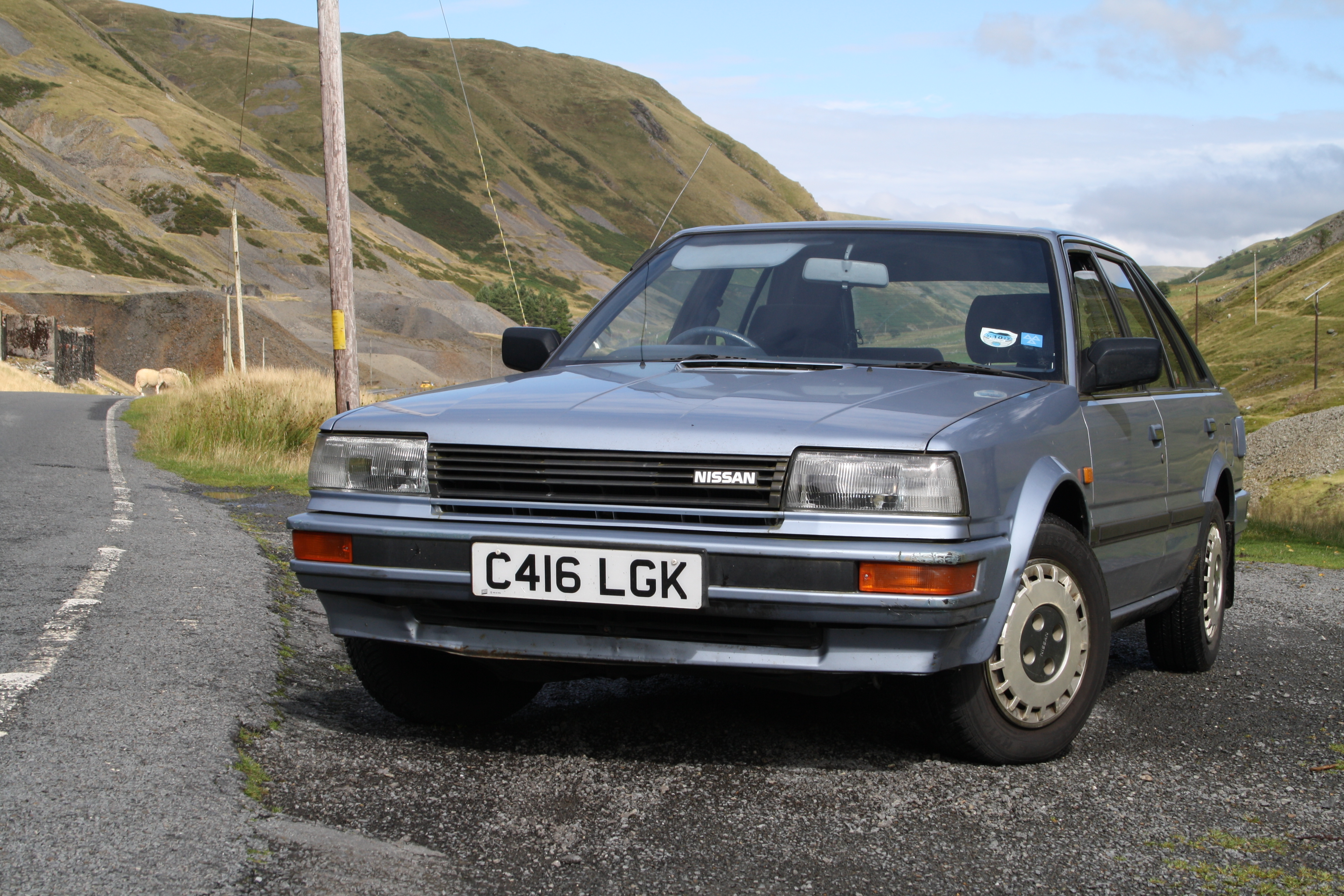 nissan bluebird pictures