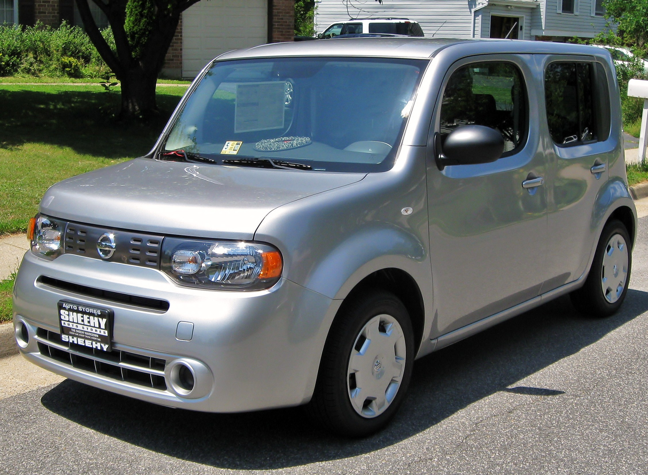 nissan cube iii 2009 images #6
