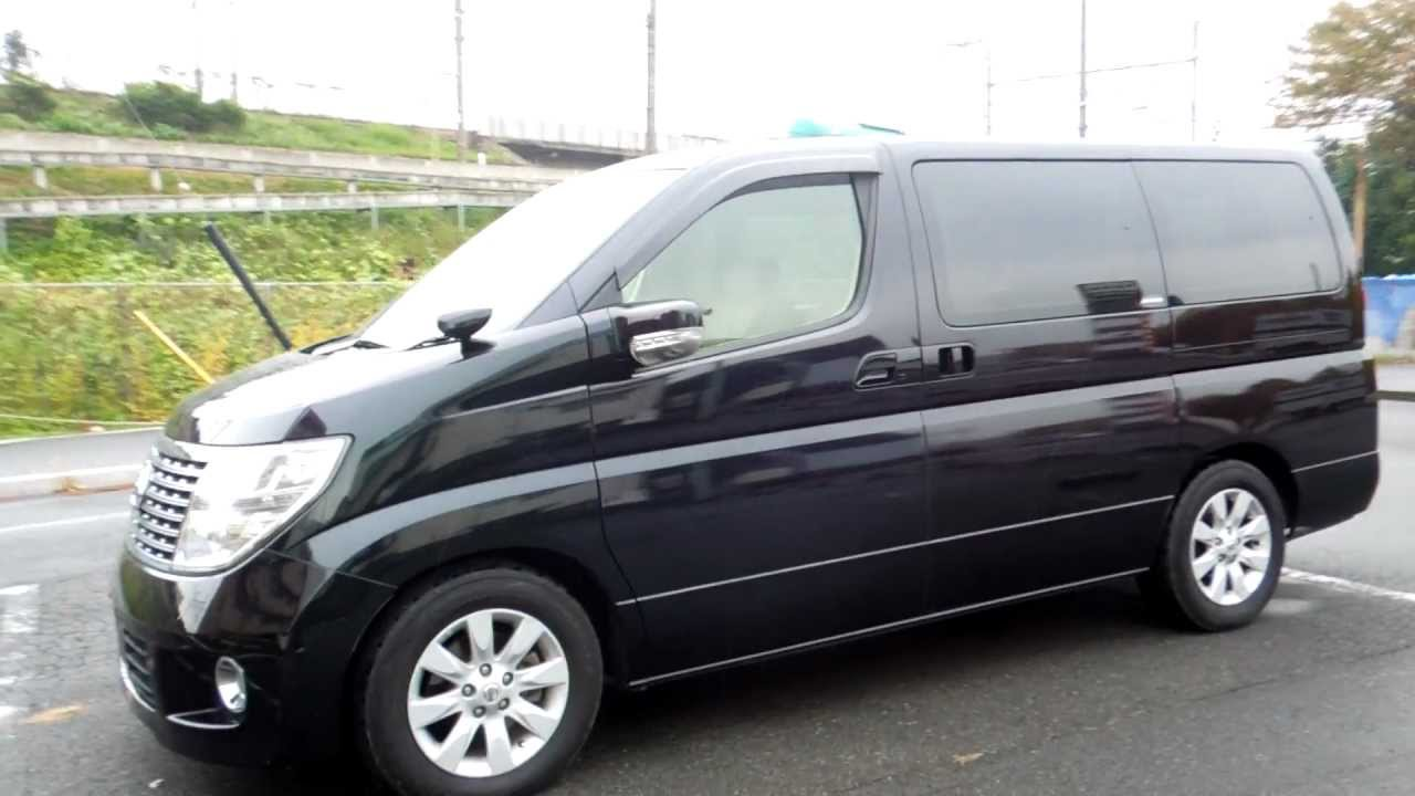 2006 Nissan Elgrand E51 Pictures Information And