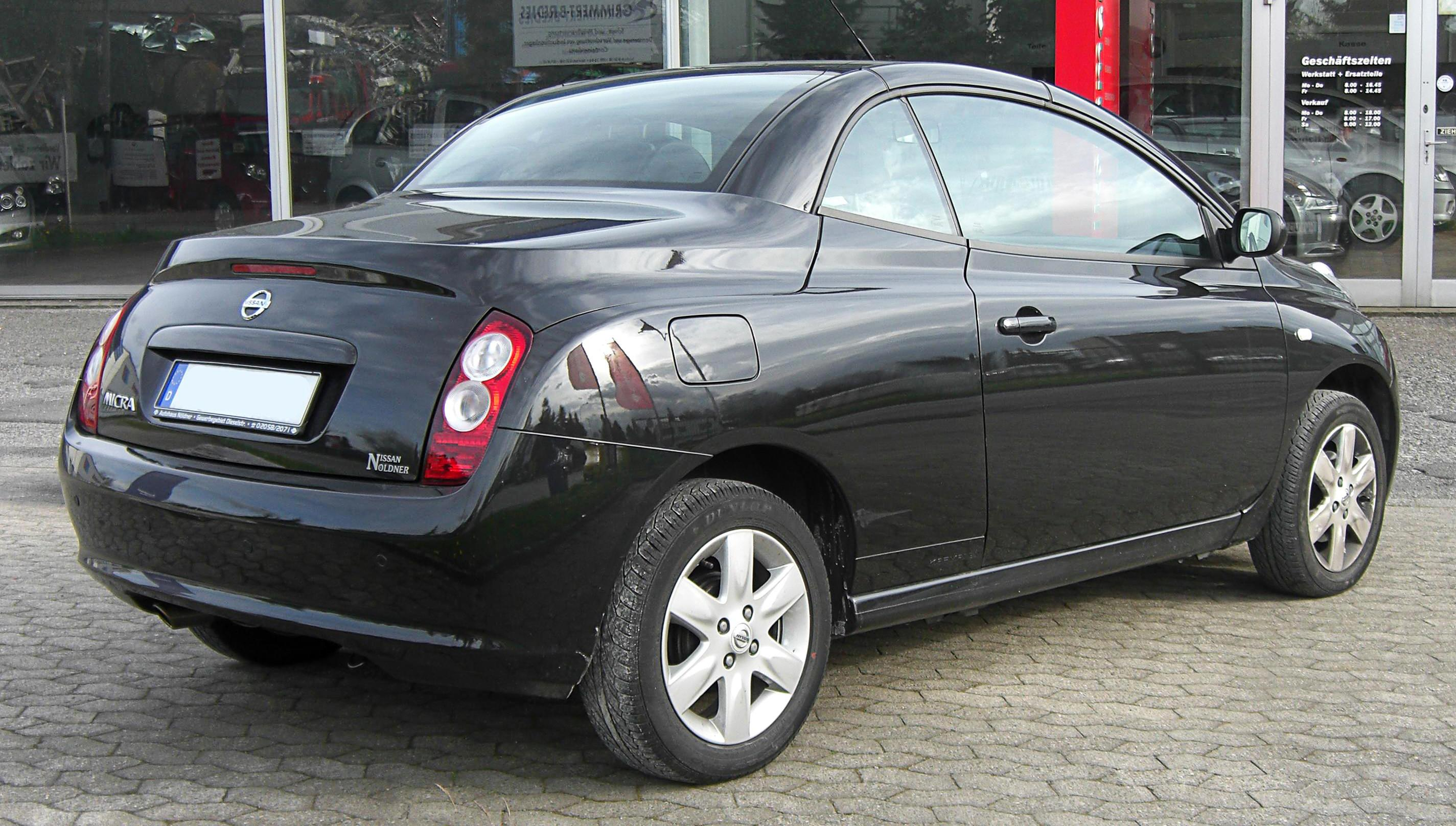 nissan micra coupe cabriolet (k12c) 2008 #4