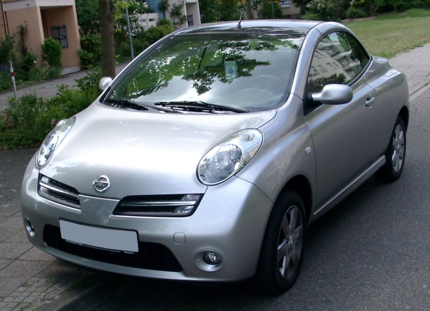 nissan micra coupe cabriolet (k12c) 2011 #7