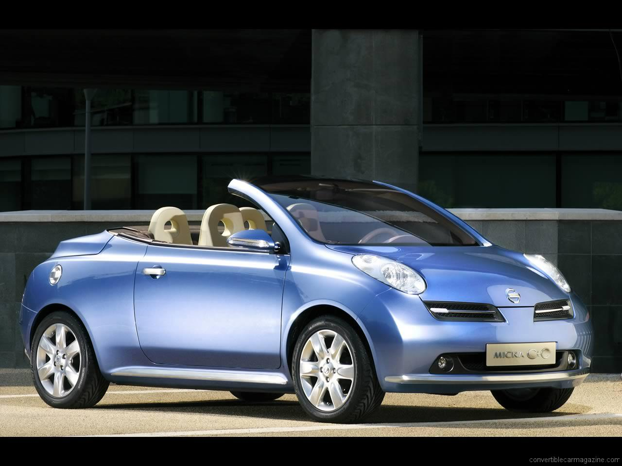 nissan micra coupe cabriolet (k12c) 2011 wallpaper #14
