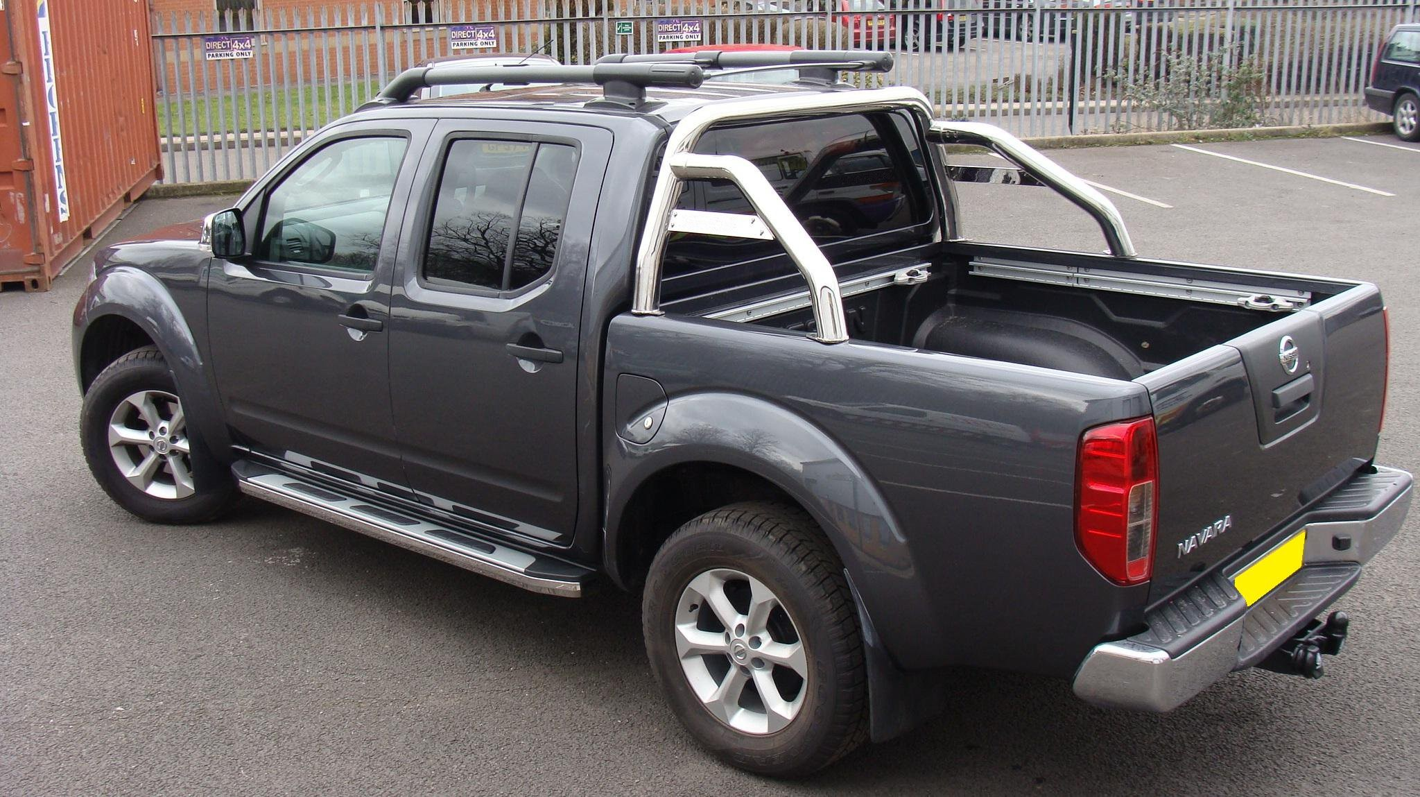 2005 Nissan Navara D40 Pictures Information And Specs
