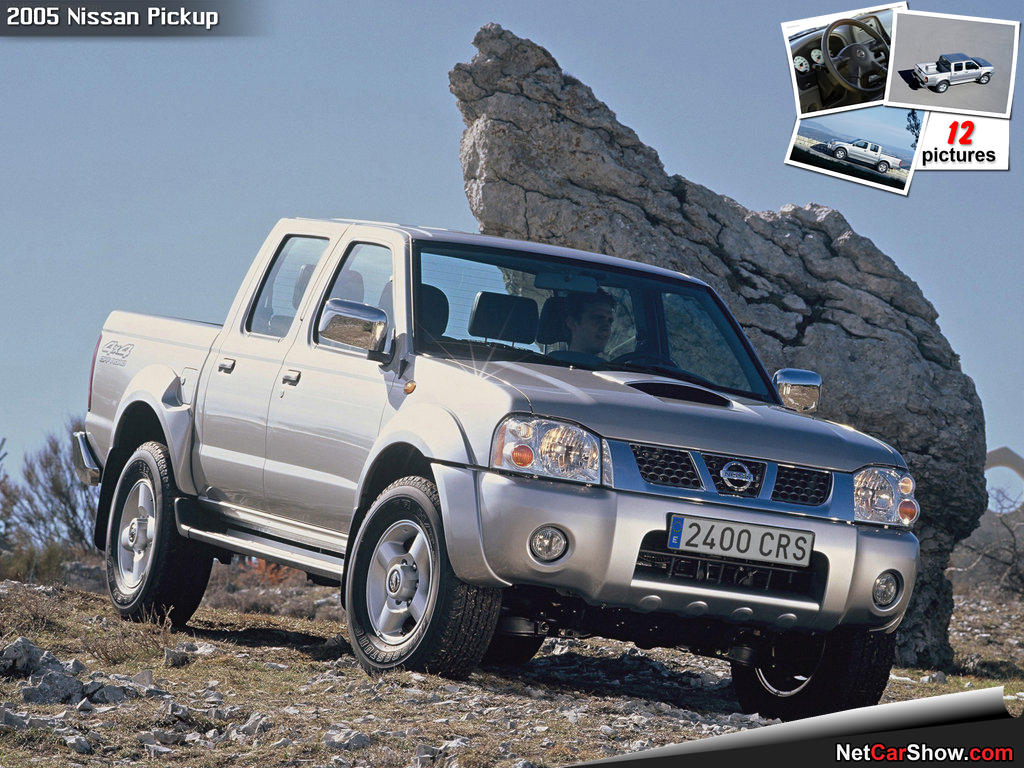 nissan pick up images #2