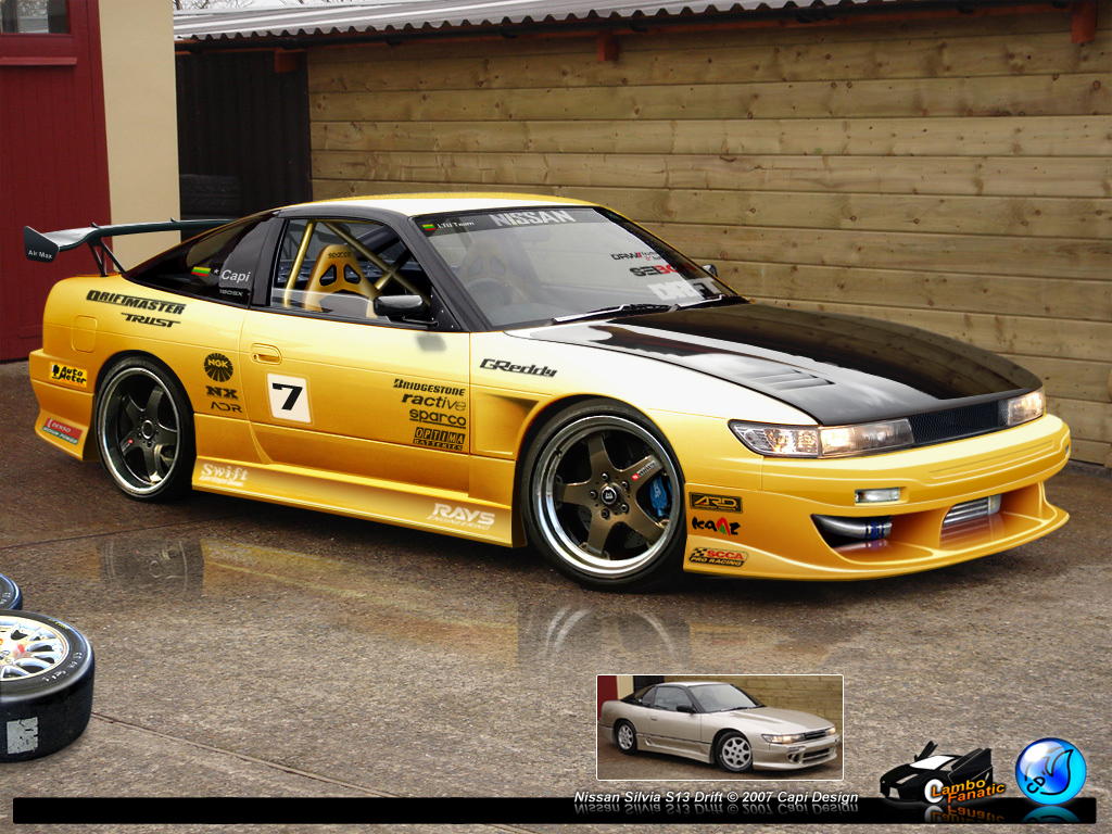 1991 nissan silvia s13 pictures information and specs. Black Bedroom Furniture Sets. Home Design Ideas
