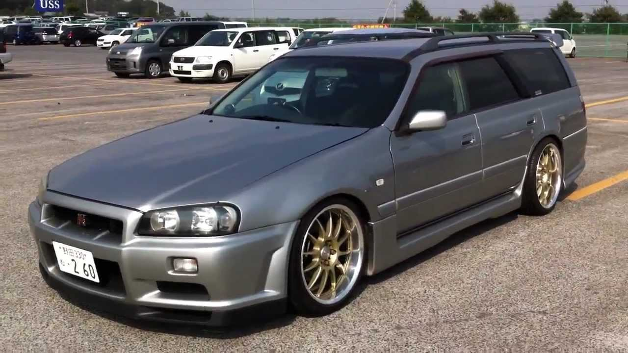 nissan stagea wallpaper